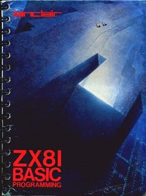 ZX81 Manual Front Cover